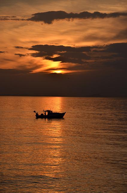 Esenköy, Solar, Fishing, Peace, Sunset, Landscape