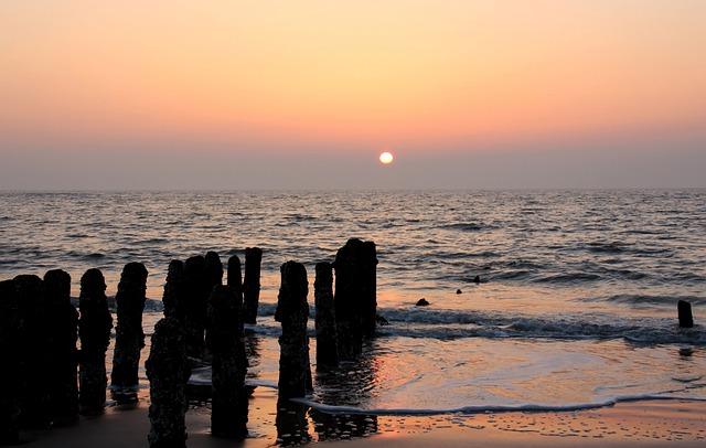 Abendstimmung, Sylt, Sunset, Evening, Sea