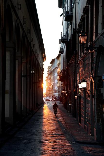 Firenze, Sunset, Florence, Cityscape