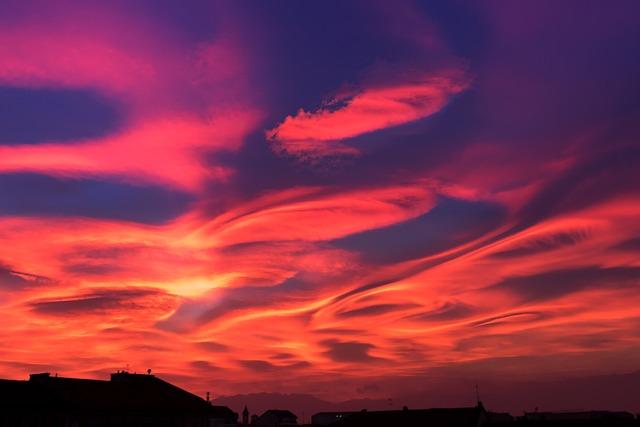 Sunset, Torino, Landscape, Italy, Horizon, Sun Sunset