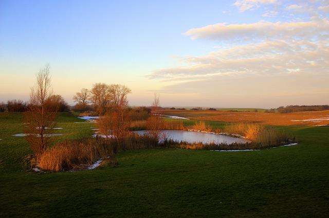 Landscape, Lake, Pond, Abendstimmung, Harmony, Sunset