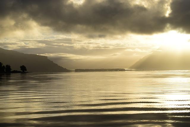 Lake, Water, Sunset, Nature, Reflection, Landscape, Sky