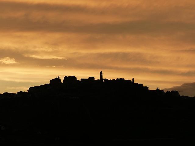 Langhe, Sunset, Barolo, Bussia