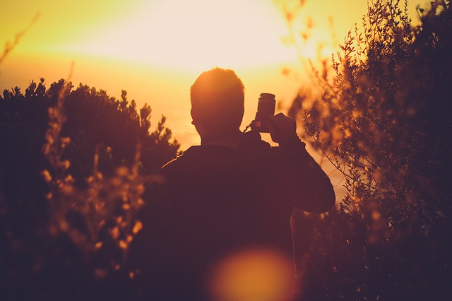 Me, Sunset, Summer
