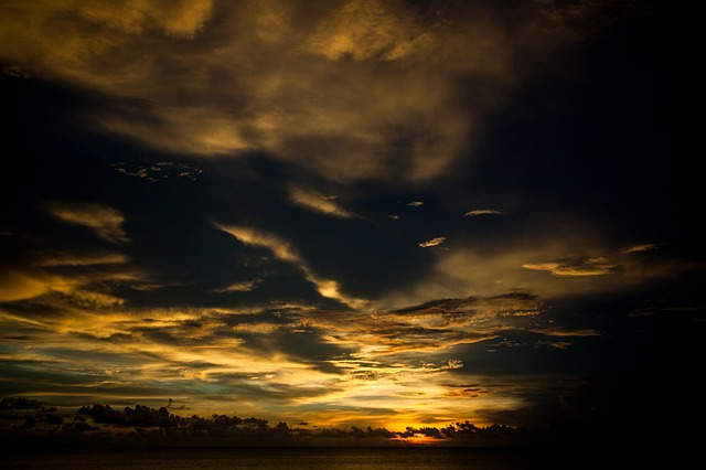 Clouds, Nature, Overcast, Sky, Sunrise, Sunset