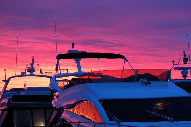 Boat, Boat Life, Summer, Sunset, Boating, Norway