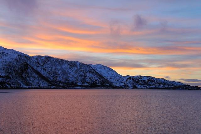 Sunset, Ever-changing, Orange, Red, Blue, Reflection