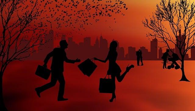 Silhouette, Sunset, Panorama, Dusk, Human, Live, Trees