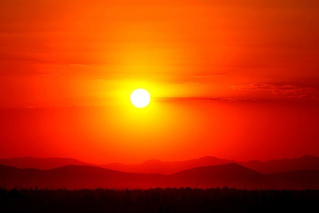 Sunset, Red, Solar, Konya