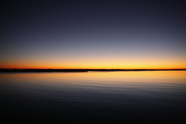 Sunrise, Ocean, Sea, Water, Sunset, Beach