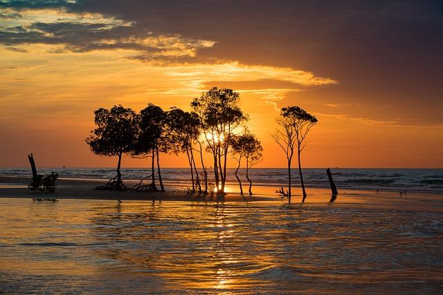 Sky, Sunset, Darwin, Sunset Sky, Horizon, Tropical
