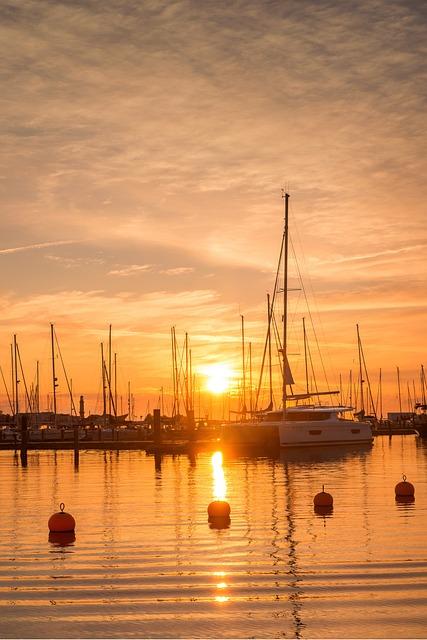 Sunset, Abendstimmung, Evening, Evening Sun, Mood, Sun