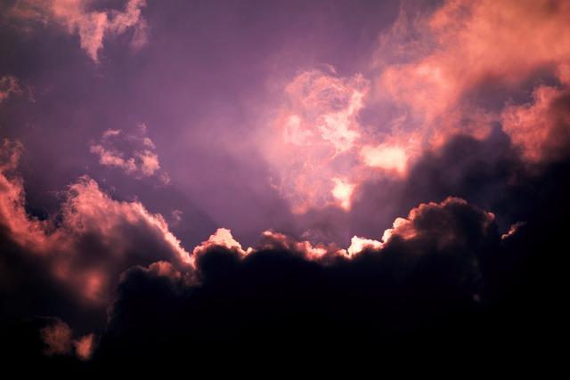 Cloud, Cumulus, Fluffy, Sky, Heaven, Sunset, Sunset Sky