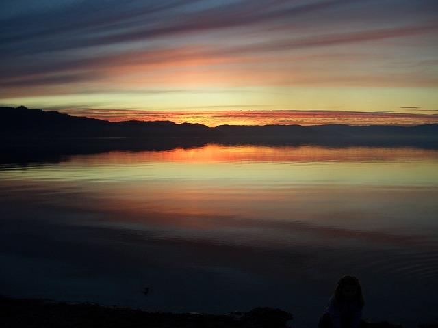 Sunset, Trøndelag, Norway, Evening