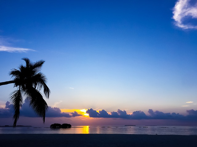 Waters, Sunset, Beach, Sun, Tropical