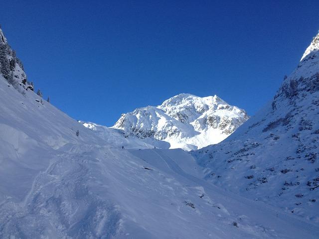 Mountain Panorama, Stubai, Winter, Sunshine, Mountain