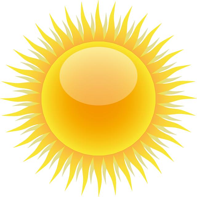 Sun, Weather, Weather Forecast, Sunny, Sunshine