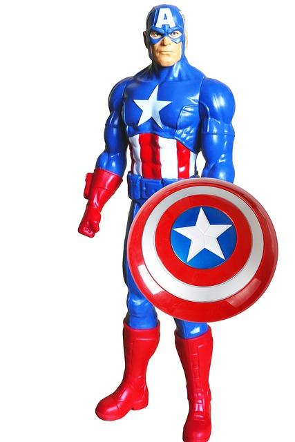 Super Hero, Captain America, America, Captain, Costume