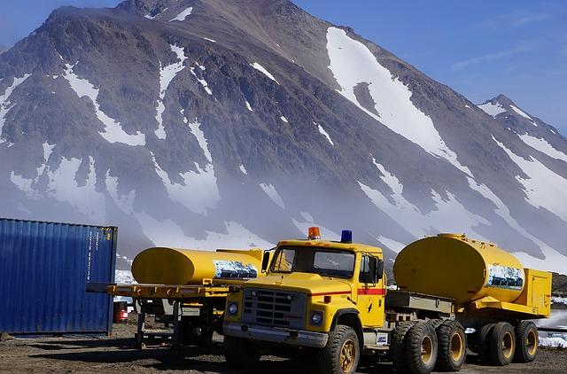 Tanker, Truck, Greenland, Supply