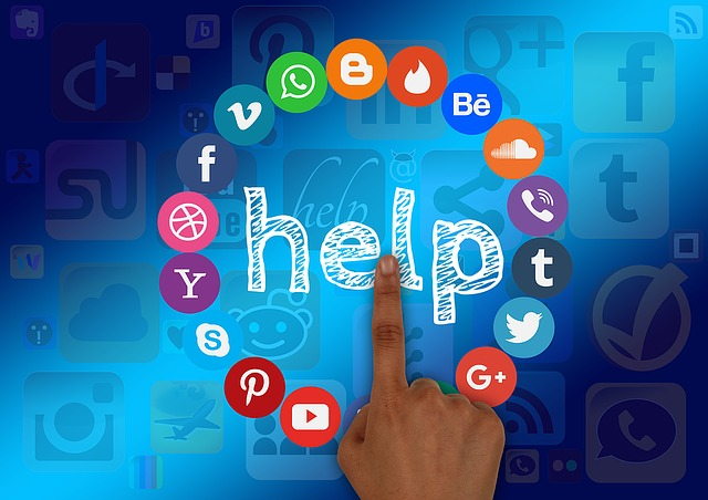 Social Media, Help, Support, Finger, Hand, Structure