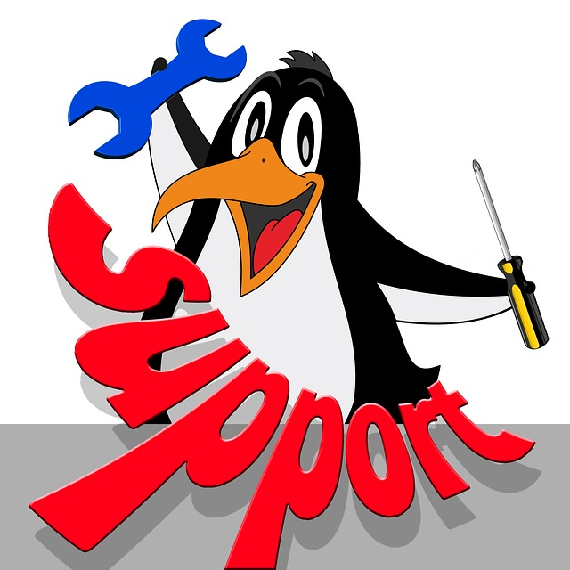Support, Penguin, Tool, Comic, Wrench, Screwdriver