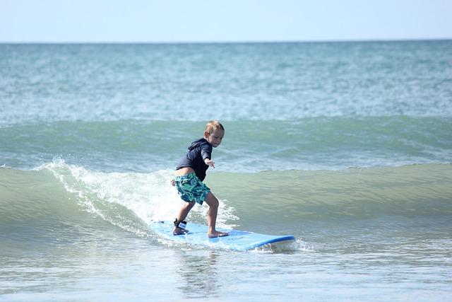 Surf, Beach, Summer, Sport, Vacation, Surf Board