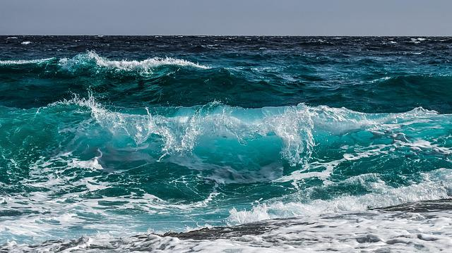 Wave, Water, Surf, Ocean, Sea, Spray, Wind, Motion