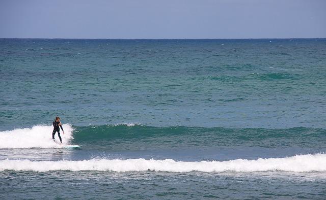 Klitmoeller, Beach, Ocean, Waves, Surfer, Surfing