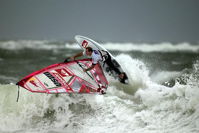 Wind Surfing, Surf, Surfing, Surfer, Windsport, Sport