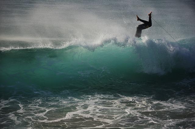 Surfer, Wave, Water, Water Sports, Ocean, Sea