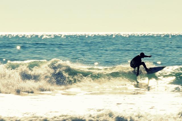 Surfing, Watersports, Sea, Sun