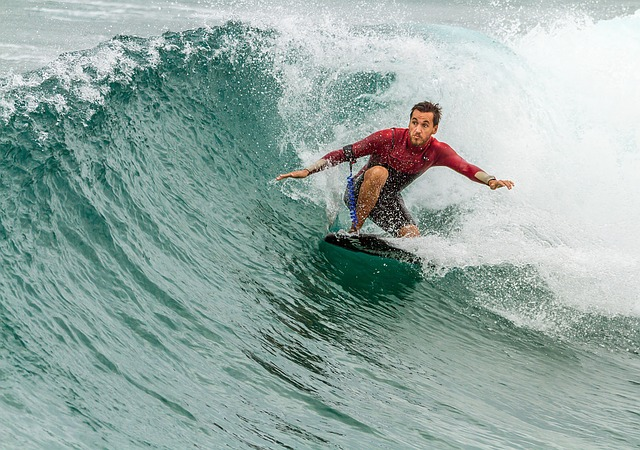Surfing, Surfboard, Man, Surf, Wave, Male, Person