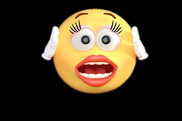 Emoticon, Emoji, Shock, Surprise, Cartoon