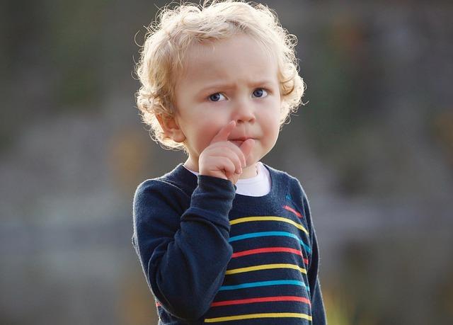 Child, Surprise, Think, Interactivity, Communicate
