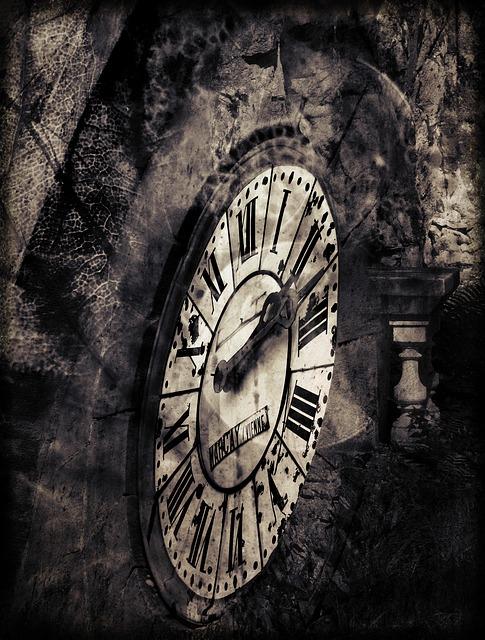 Clock, Fantasy, Surreal, Nature