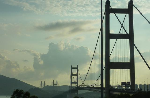 Bridge, Hong Kong, Suspension Bridge