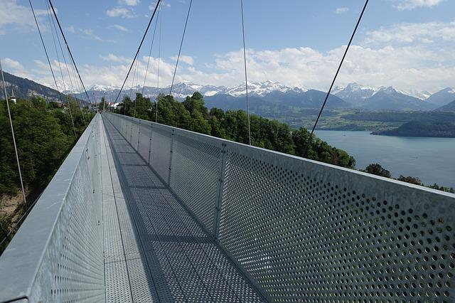 Bridge, Suspension Bridge, Pedestrian