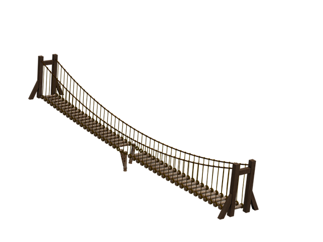 Bridge, Wooden Bridge, Suspension Bridge, Ropes, Broken