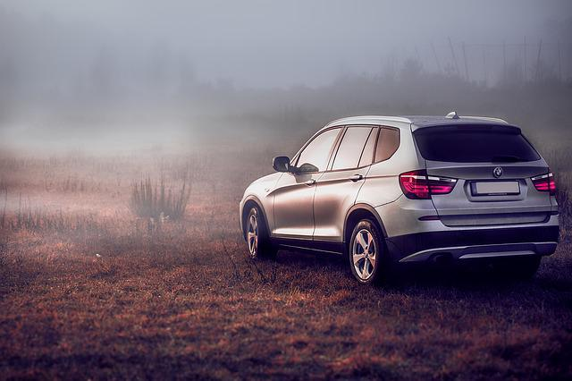 Suv, Bmw, Pkw, All Terrain Vehicle, X3, Autumn, Vehicle