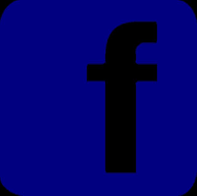 Facebook, Button, Pin, Vector, Icon, Svg, Vectors