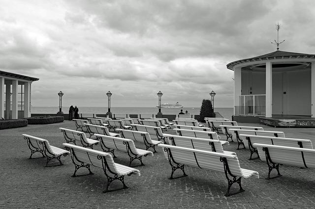 Rügen, Binz, Baltic Sea, Promenade, S W, Sw