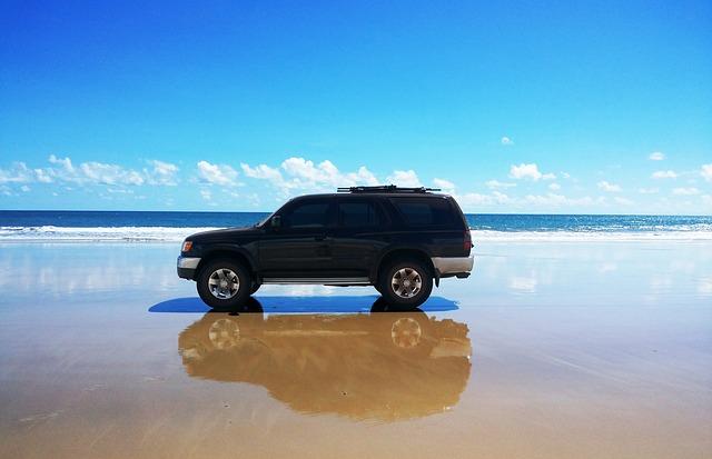 Offroad, Jeep, Sw4, Beach, Trail, Car