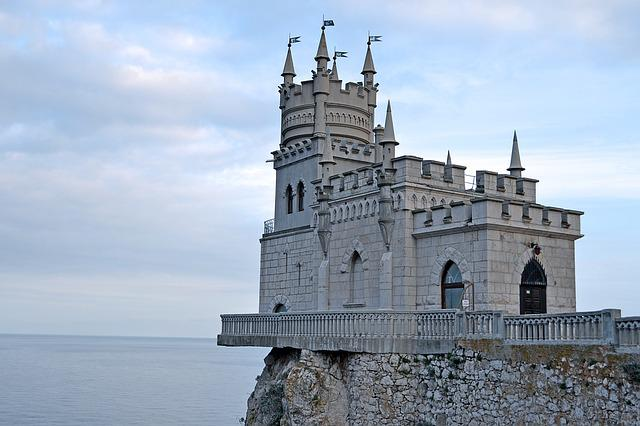 Swallow's Nest, Crimea, Palace, Mountain, Journey