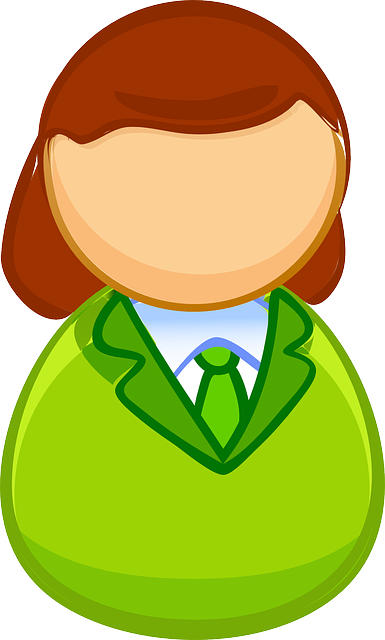 Woman, Sweater, Tie, Green, Blouse, Business