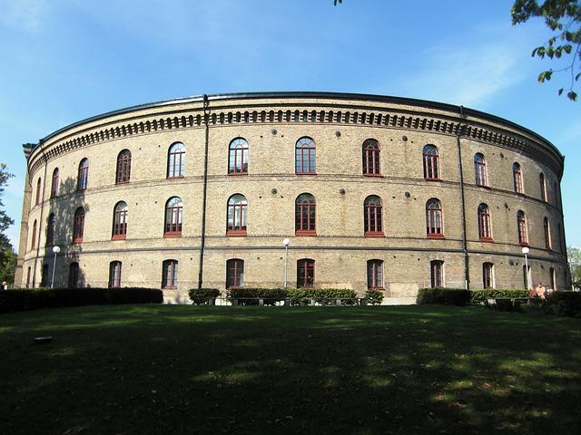 University, Gothenburg, Sweden, Downtown, Architecture