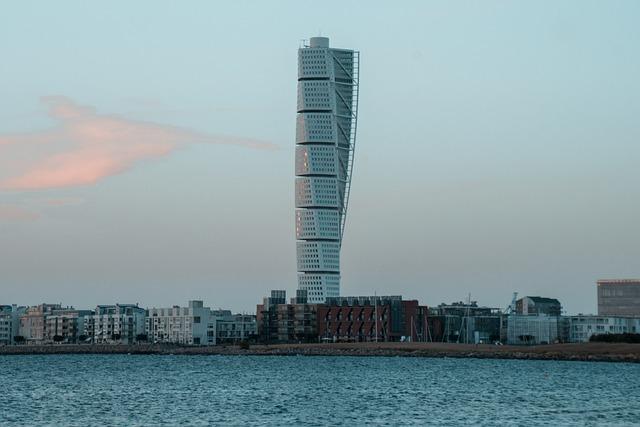 Turning Torso, Malmö, Skåne, Sweden, Building