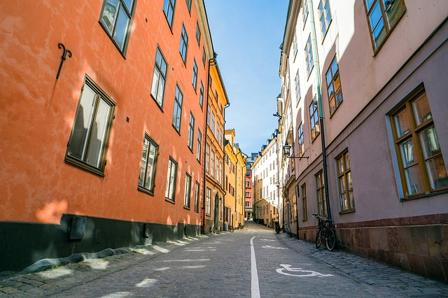Stockholm, Sweden, Old City, Alley, Europe, Tourism