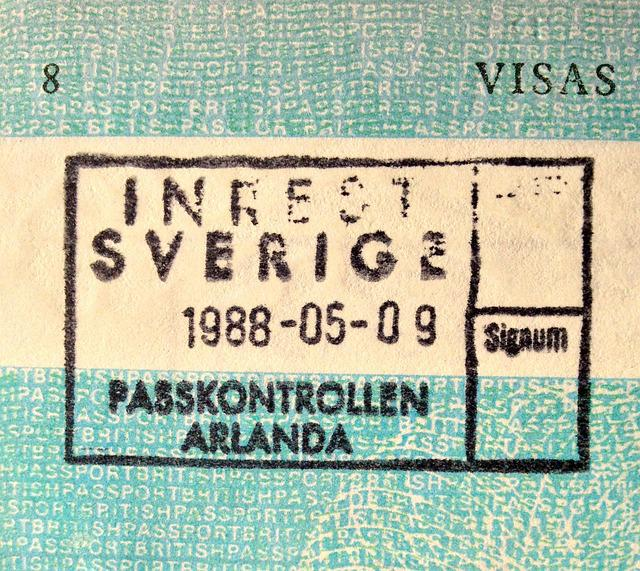Passport, Sweden, Arlanda, Travel, Swedish, Tourism