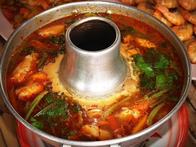 Food, Thai Soup With Shrim, Sweet And Sour Thai Soup
