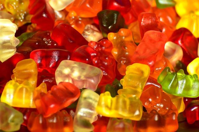 Gummibärchen, Colorful, Candy, Nibble, Sweet, Gelatin